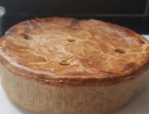 Steve's Steak and Veg Pie