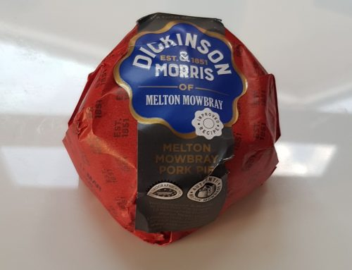 Dickinson and Morris Melton Mowbray Pork Pie
